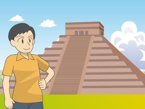 古代都市チチェン-イッツァ/メキシコ
