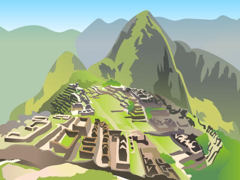 マチュ・ピチュの歴史保護区/ペルー