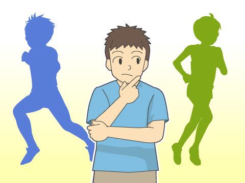 短距離走とマラソンの違い
