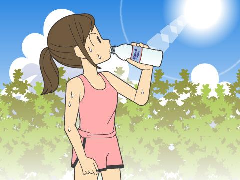 夏のトレーニング