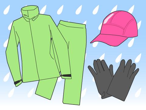 雨の日のトレーニング