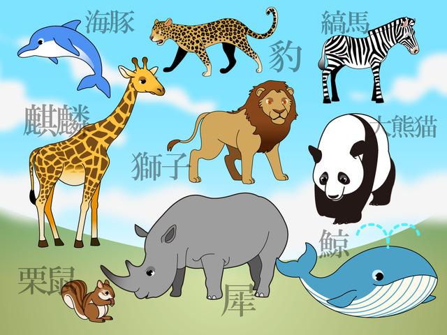 動物の漢字