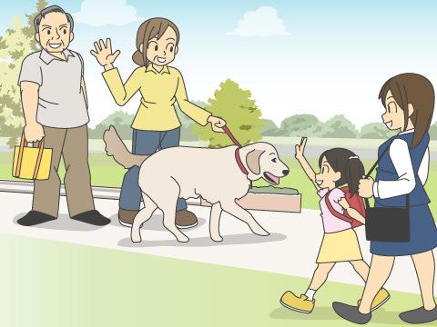 高齢者の健康と密接な関係があるペットの存在