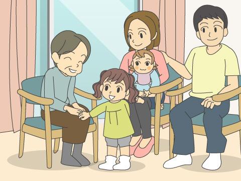 家族の面会・宿泊について