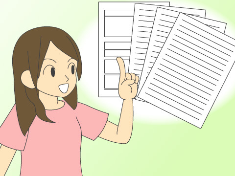 不動産会社によって必要な書類が変わる場合あり!