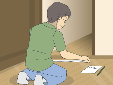 引越当日の作業をスムーズにするためにもお部屋を確認