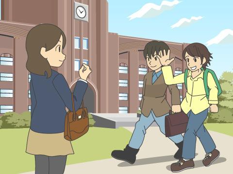 学生街に住むメリット