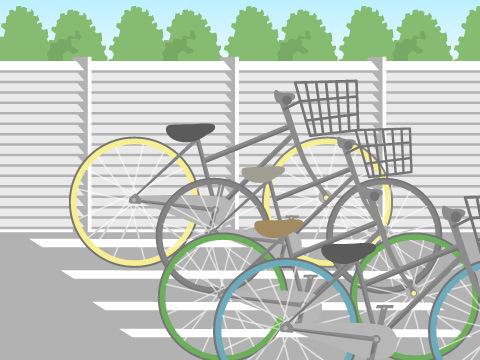 駐輪場の防犯対策