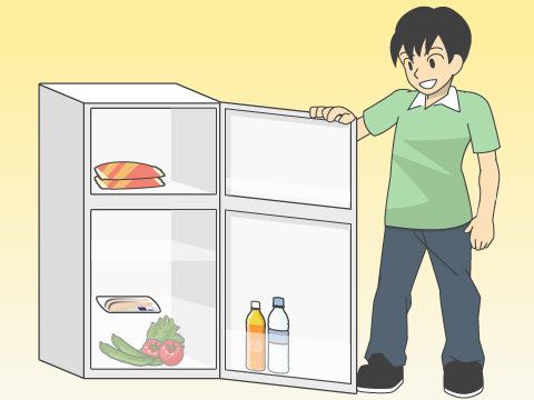 冷蔵庫は100リットルサイズがベター
