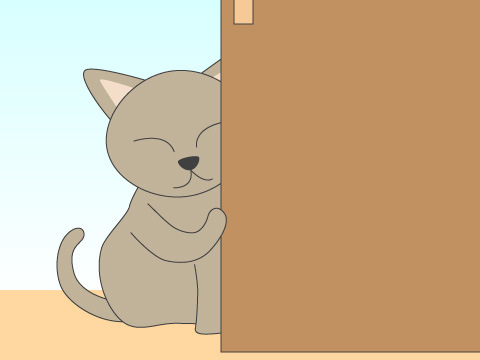 ペットが部屋のドアを開けてしまうときはどうする?