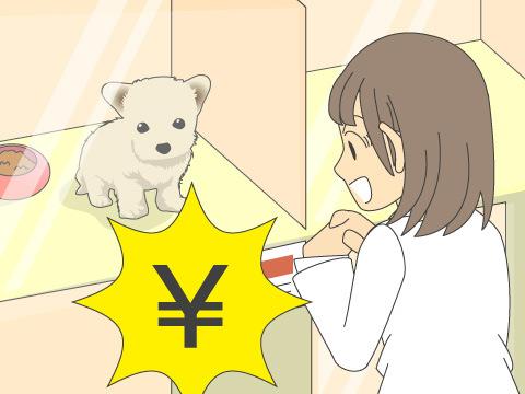 犬を飼う場合のお金と手間