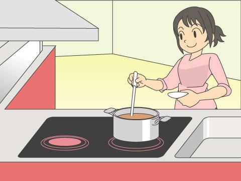 システムキッチンの便利な機能