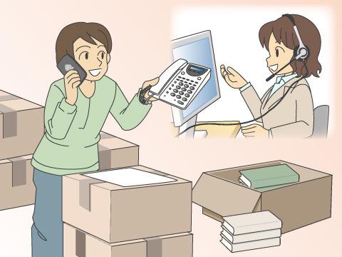 固定電話の移設手続きは早めがオススメ