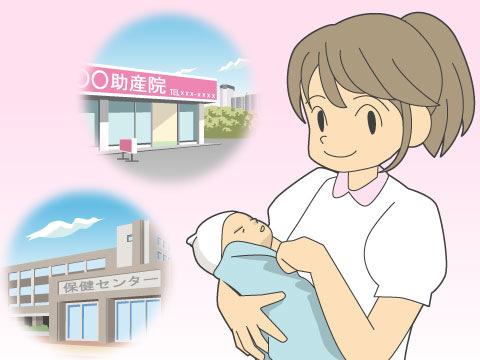 助産師の仕事