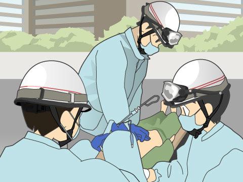 救急救命士の仕事