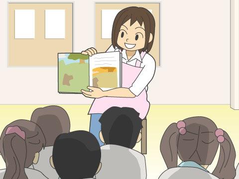 幼稚園の先生の仕事・職場
