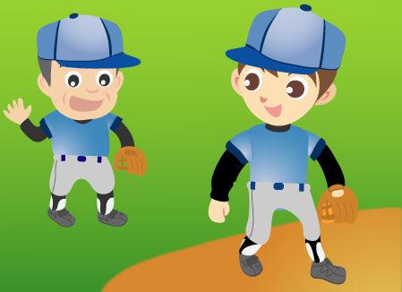 健康と野球