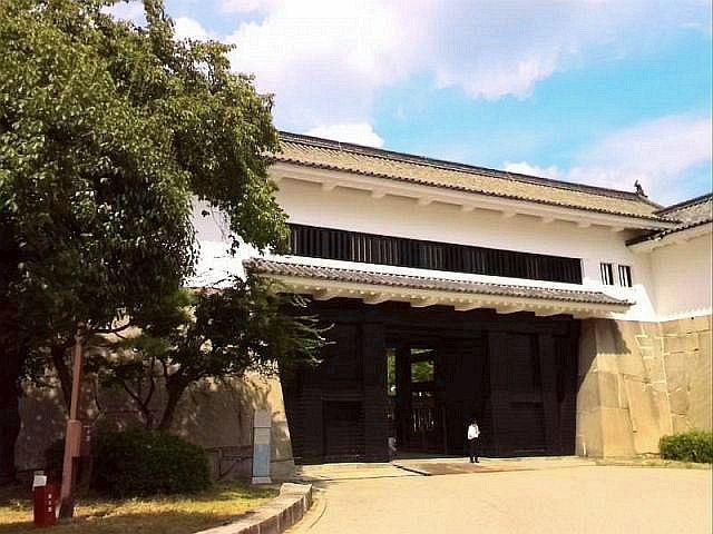 江戸時代の面影を感じられる大阪城(大坂城)の重要文化財
