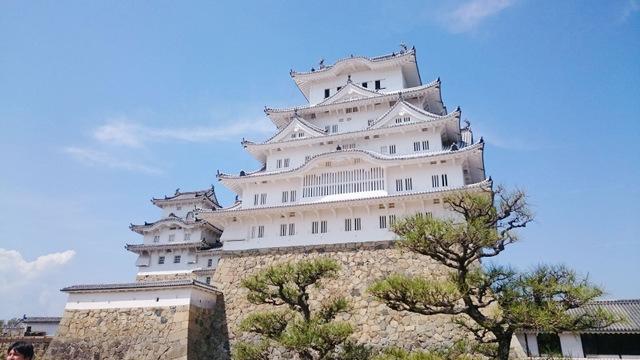 現存12天守のひとつで最も大きい天守「姫路城」