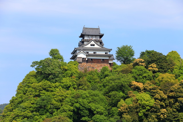 城 犬山 移築された蘭丸の城