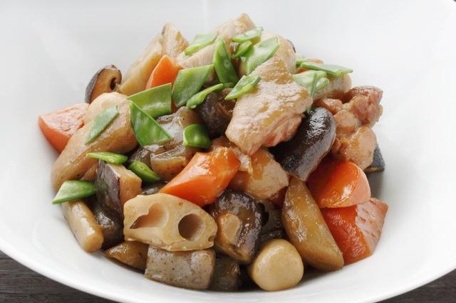 九州地方のおせち料理がめ煮