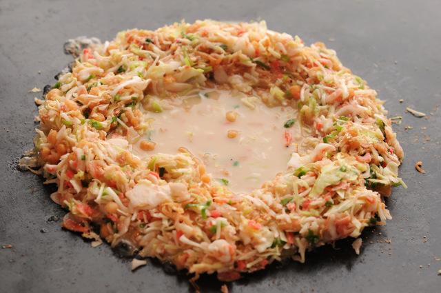 もんじゃ 焼き レシピ お好み焼き 粉