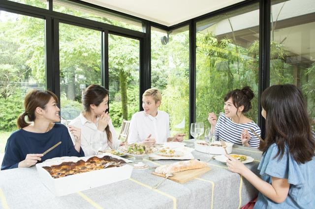 訪日客との食事会