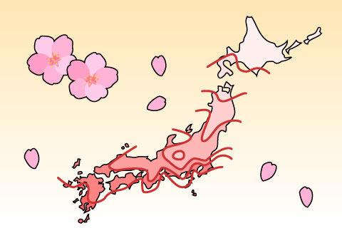 桜前線(サクラゼンセン)
