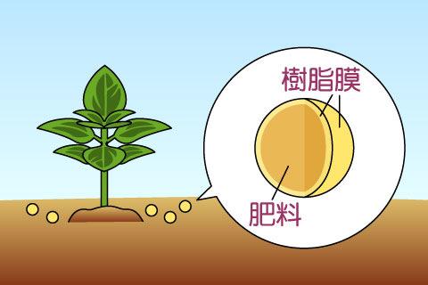 コーティング肥料(コーティングヒリョウ)