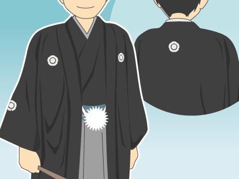 五つ紋服(イツツモンフク)