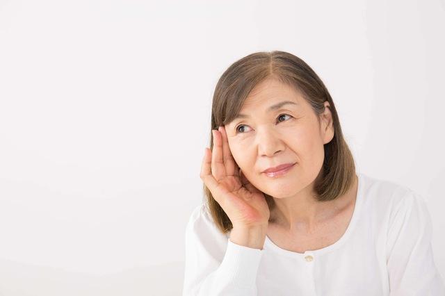 混合性難聴の多くは、老人性難聴