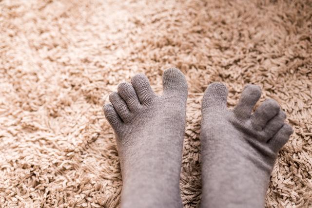 靴下重ねばき