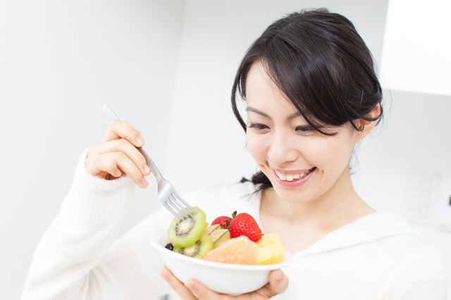 朝食に毎日フルーツ200g食べるのがおすすめ
