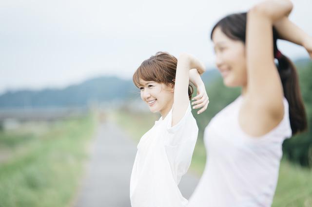 健康な生活を送るために運動を続け、生活習慣病を予防する