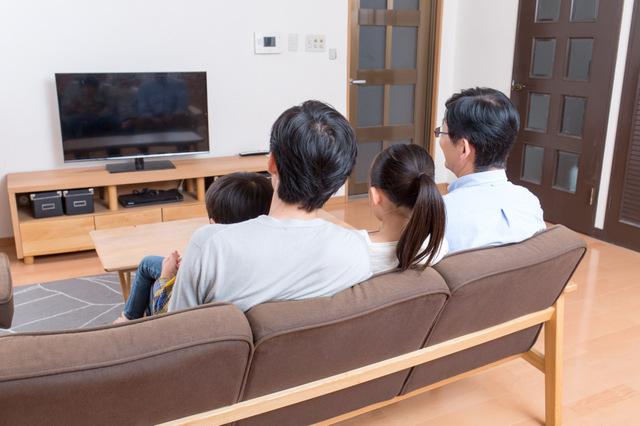 デジタル放送が開始され、テレビの液晶もハイビジョンに