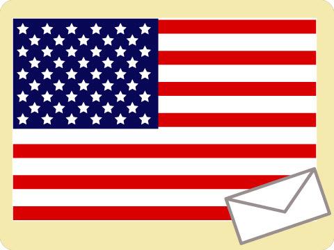 アメリカの郵便