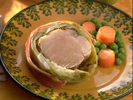 豚肉のキャベツ包み
