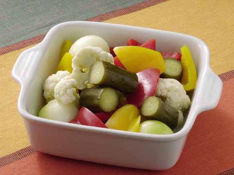 カラフル野菜ピクルス
