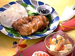 中国風鶏の照り焼き