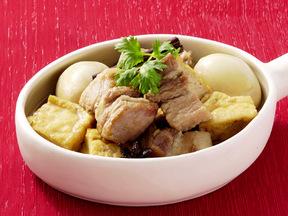 豚肉と卵の八角煮