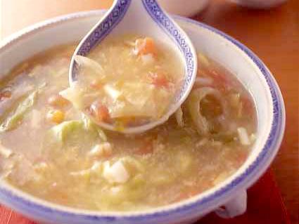 海鮮のとろみスープ