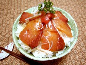 お魚ウメェ丼