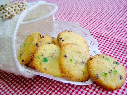 アイスボックスクッキー(ドライフルーツ入り)