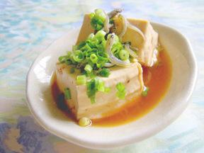 豆腐のピリ辛煮