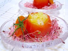 フルーツトマトのファルシ