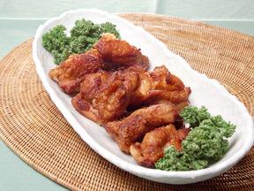 和風でジューシーな鶏の唐揚げ
