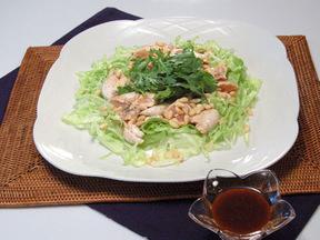 韓国風鶏ささみサラダ