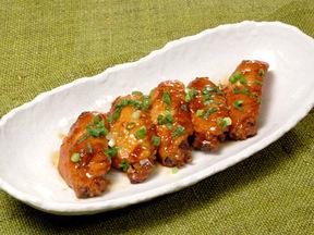 鶏手羽の黒酢煮