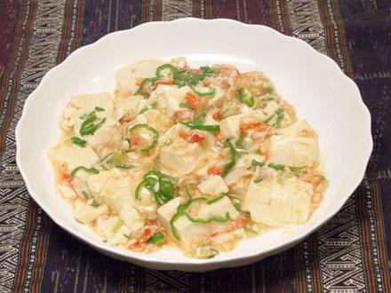 カニと豆腐のうま煮