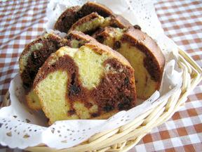 マーブルチップケーキ